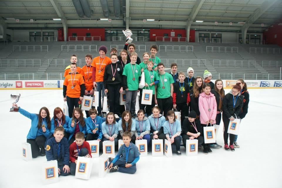udeleženci mladinskega državnega prvenstva v curlingu